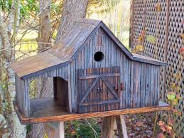 Decorative Bird House Plans Rustic Birdhouse Ideas Birdhouses Made From Old Barn Wood Cool Free Homemade