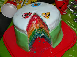 gateau d anniversaire herve cuisine gâteau arc en ciel à la noix de coco la fée cuistot