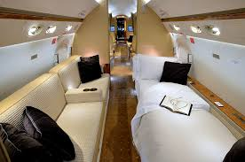 Inside Luxury Private Jets Interior Design