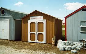 Everton 8 X 12 Wood Storage Shed by Top 10x10 Garage Door