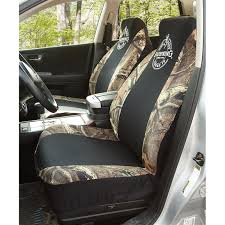 2 Browning® Spandex Seat Covers With BONUS Decal - 206007, Seat ...