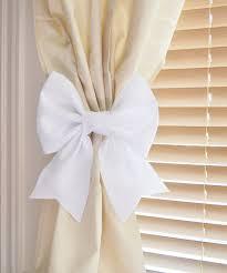 antler curtain tie back holdback cabin decor primitive natural
