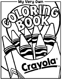 Crayola Coloring Pages For Kids Pri