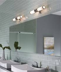 bathroom lighting above mirror design decoration