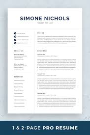 100 Resume Two Pages Professional Template For Word Mac 1 And 2 Page