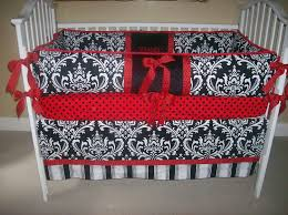 Nursery Crib Bedding Sets U003e by Red Crib Bedding Navy And Grey Plaid Crib Bedding With Red Trims