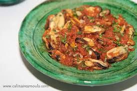 comment cuisiner des moules surgel馥s tajine de moules à la marocaine