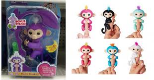 WowWee Fingerlings Interactive Baby Monkey Toy Zoe 1495 In Stores Find It At Walmart HERE Target On Amazon