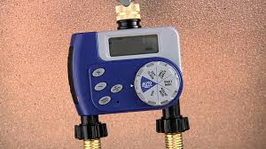 2 outlet hose faucet timer by orbit youtube
