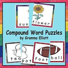 Compound Word Puzzles Or Wall Cards