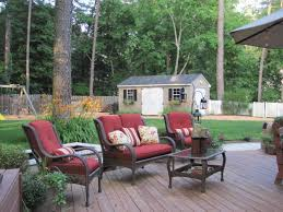 Rustic Style Backyard Decor With Walmart Patio Chairs In Canada