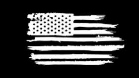 Black 6 Distressed Waving American Flag Jeep Decal Source Home Die Cut Decals Online Store Powered By Storenvy Rustic