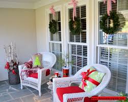 Outdoor Christmas Decorating Ideas Front Porch by Home Design Fascinating Christmas Porch Decorating Ideas Images