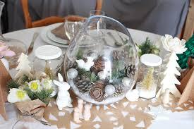 deco noel de table decoration noel avec nature décoration de noël déco écolo