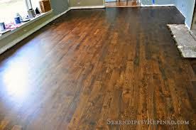 Restain Hardwood Floors Darker by Serendipity Refined Blog June 2014