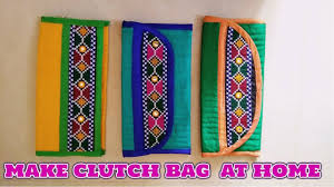 new clutch bag diy handcrafted clutch bag hindi learn how to make
