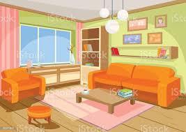 vektorillustration eines gemütlichen interieurs ein haus zimmer ein wohnzimmer stock vektor und mehr bilder architektur