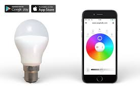 easybulb rgb iphone and android phone controlled led light bulb