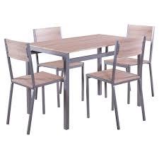 weiß und schwarz tischgruppe 6 personen esszimmer esstisch