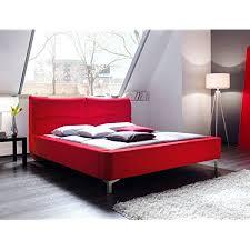 expendio polsterbett cloude bett 180x200 cm stoffbezug rot doppelbett ehebett designerbett schlafzimmer