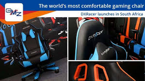 dxracer gaming chairs launch in south africa and they are