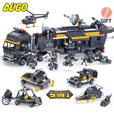 SWAT Police Command Vehicle Truck Model Building Block Bricks Toys ... Custom Lego City Animal Control Truck By Projectkitt On Deviantart Gudi Police Series Car Assemble Diy Building Block Lego City Mobile Police Unit Tractors For Bradley Pinterest Buy 1484 From Flipkart Bechdoin Patrol Car Brick Enlighten 126 Stop Brickset Set Guide And Database Here Is How To Make A 23 Steps With Pictures 911 Enforcer Orion Pax Vehicles Lego Gallery Swat Command Vehicle Model Bricks Toys Set No 60043 Blue Orange Tow Trouble 60137 Cwjoost