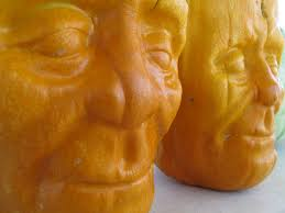 Preserve A Carved Pumpkin And Prevent Mold by Halloween Pumpkins Look Like Frankenstein U2014 Before Being Carved