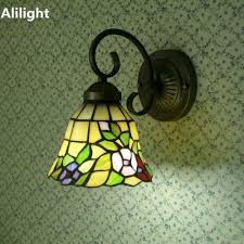 Tiffany Style Lamp Shades by Online Get Cheap Tiffany Style Sconces Aliexpress Com Alibaba Group