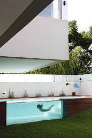 Home Designs: Elevated Swimming Pool With Glass Walls - Elevated ... Interior And Exterior Design Home Awesome House Architecture Ideas 2036 Best New 6 17343 Eco Friendly Designs Pool Deck Styles Modern Beach Adorable Beachfront For Homes Beauty Home Design 2015 Plans Baby Nursery Stone House Designs Stone Building Free Minecraft Diamond Wallpaper Block Generator