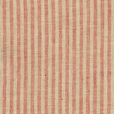 Adams Ticking Brick Indoor Outdoor Fabric