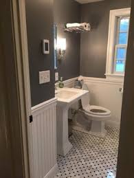 this bathroom makeover will convince you to embrace shiplap bath