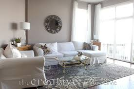 Grey And Purple Living Room by The Creative Imperative House Tour Purple And Gray Living Room
