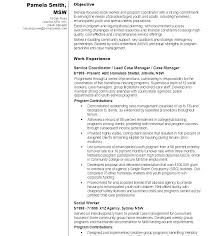 Social Worker Resumes Samples Child Care Resume Sample Work School Objective Professional