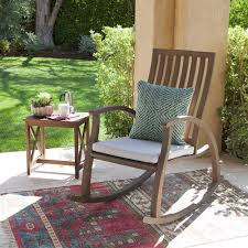 20 Outdoor Rocking Chairs To Peruse White Wooden Rocking Chair On Front Porch Adirondack Chairs Aust American Rocking Chairs Caspar Outdoor Acacia Wood Chair Amazoncom Giantex Natural Fir Patio Wicker Armed Garden Lounge Ftstool Rattan Rocker Wooden Belham Living Richmond Heavyduty Allweather Does Not Apply 200sbfrta Balcony 62 Outsunny Porch Aosom Rakutencom Tortuga Jakarta Teak Gumtree Perth