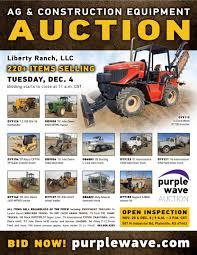 100 Types Of Construction Trucks SOLD December 4 Liberty Ranch LLC Auction PurpleWave Inc