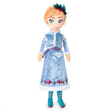 Anna Plush Doll Olafs Frozen Adventure Medium 18 12