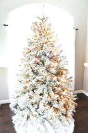 Flocked Christmas Trees How To Flock A Tree Create Snow Effect On Your Artificial With Clearance