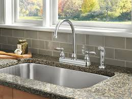 Moen Sink Sprayer Diverter Valve by Delta Faucet 21988lf Two Handle Kitchen Faucet With Spray Chrome