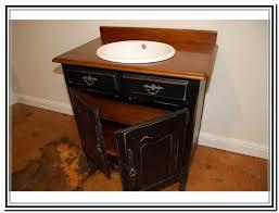 Distressed Bathroom Vanity Gray by Distressed Wood Bathroom Vanities Picture With White Vanity Stool