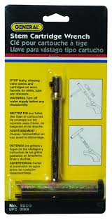 Faucet Handle Puller Tool by General Tools 1809 Stem And Cartridge Puller Faucet Stems