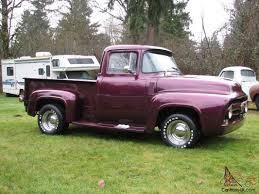 1956 Ford F-100 Custom Hotrod Truck Shaved,built Engine/trans/rear ...