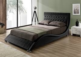 Black Leather Headboard King by Leather Headboard King Color Looks Elegant Leather Headboard