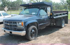 100 1998 Chevy Truck For Sale Chevrolet Silverado 3500HD Dump Body Truck Item I8236