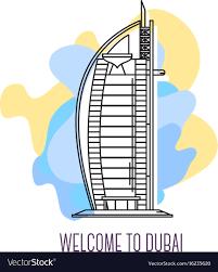 100 Burj Al Arab Plans Al Arab Hotel Dubai Landmark Symbol Of