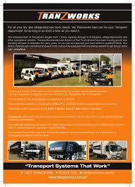100 Dedicated Truck Driving Jobs Tranzworks A4flyer 2011 Final