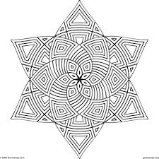 Printable Mandala Coloring Pages For Adults Free Shapes Page Pdf Colouring Large Size