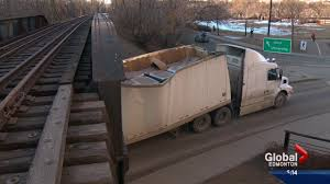 Trucks Keep Getting Stuck Under Overpass By Edmonton's High Level ... Photos Columbus Bicycle Path Reopens After Semitruck Gets Stuck Carlisle Residents Fed Up Over Trucks Getting Under Bridge Another Look At The Truck I35 Closing Truck Stuck Under Bridge Fish Trail Lake Kxly Faq 11 Foot 8 Queens In Quebeyan The Age Meets Story Behind Spokanes Muchscarred On Campbell Avenue West Haven Watch Cherry Hill Durham Abc11com Tractor Trailer Wnepcom