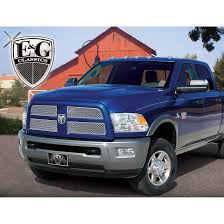 E&G Classics 2010-2012 Dodge Ram 2500 / 3500 Grille 4 Pc Upper Heavy ... Custom Grill Mesh Kits For Nissan Vehicles By Custcargrillscom For Acura Tl Best Truck Resource Jrs Auto Jeeps Trucks Sprinters Autos Work Two Grills To Make One Bumper 1953 Chevy Billet Grilles Your Car Truck Jeep Or Suv Lift Accsories Agricultural Equipment More Classic Trucks Grills Black Tshirt Tread Wear Tshirts Car And Cummins Diesel 2006 Dodge 2500 3500 Studded Grille Running Boards Brush Guards Mud Flaps Luverne Sharp Big Lettering Toyota Customcargrills