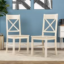 Walker Edison Traditional Wood Dining Chair, Set Of 2 - Antique ... White Ding Chair Swedish Nordic House Shop Wooden With Slatted Back Set Of Two On Better Homes And Gardens Collin Distressed Amazoncom Target Marketing Systems 2 Tiffany Chairs Detail Feedback Questions About Giantex 4 Pvc Homesullivan Rosemont Antique Wood Intertional Fniture Direct Room With Solid Wood Upholstered Button Tufted Leatherette Of Grace Rain Pier 1 Creme