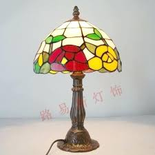 Glass Table Lamps At Walmart by Small Stained Glass Table Lamps Small Table Lamps For Bedroom